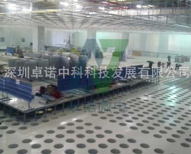 微电子厂高架地板
