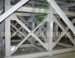 Shockproof steel structure
