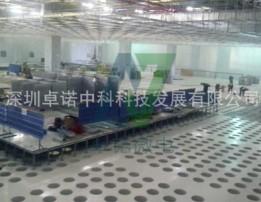 Microelectronics  factory floor