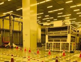 广州超视界项目格栅板案例